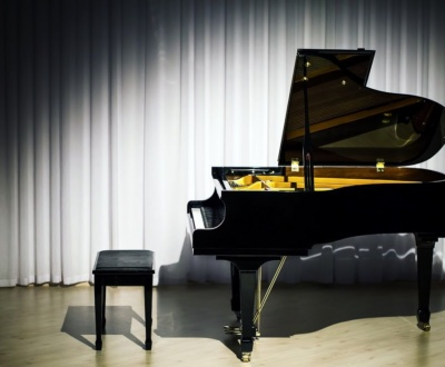 Lampenfieber-Klaviervorspiel