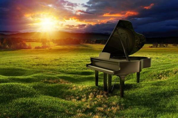 Klavier spielen Entspannung